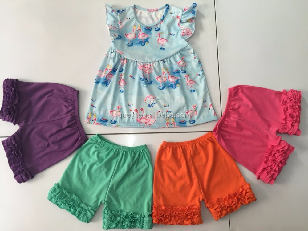 199c7beac 2016 Wholesale Kids Clothing Ruffle Pants Clothing Manufacturers ...