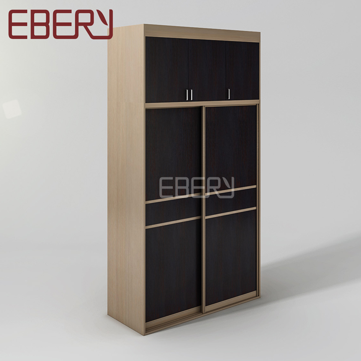 Large capacity muti-functional bedroom wardrobe with lattice drawer
