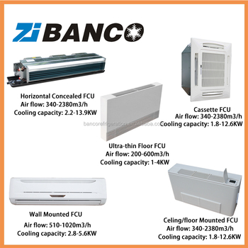 Hvac Air Conditioning Fan Coil Unit Price Buy Fan Coil