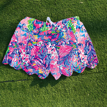 81c33765336cda Wholesale Personalized Lilly Pulitzer Inspired Scalloped Shorts ...