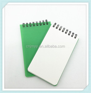 eco recycled stone paper notebook / waterproof notepad