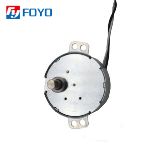 Single Phase 220V AC Gear Motor Mini Permanent Magnet Synchronous AC Motor 30-36rpm Slow Speed Synchronous Motors