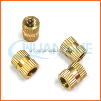 Specializing In The Production 10-24 Thread Brass Insert Nut