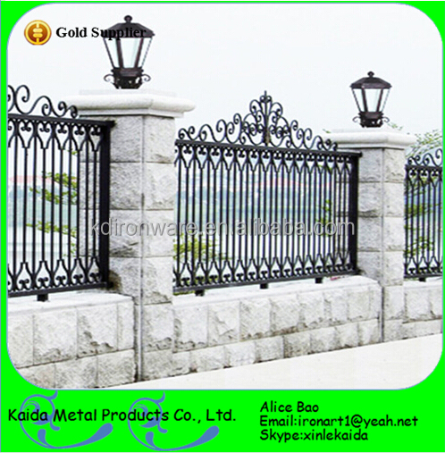 Wrought Iron Fence Design Modern design low price wrought iron fence view iron fence prices modern design low price wrought iron fence workwithnaturefo