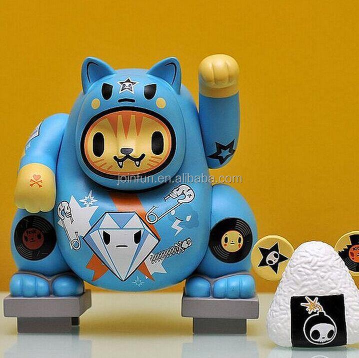 Fortune Cat Custom Making Vinyl Toy,Ghost Cat Custom Design Vinyl ...