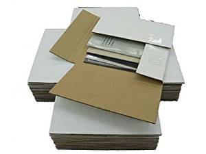 50 Variable Depth 45 RPM Record Album Mailer Boxes