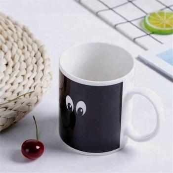 11oz smiley emoji Buy Mug Smiley Mugs Mug Face Color Decal With Coffee Magic Emoji Custom Mug Change Changing 5AR34qjL