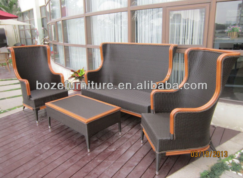 rattan outdoor furniture/ luxury sofa sets
