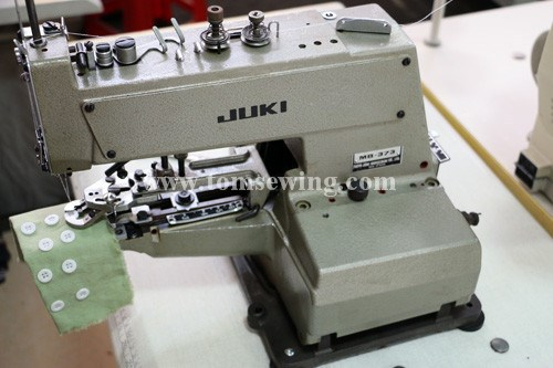 Reconditioned Used High Quality Juki Mb-373 Kaj Button Sewing ...