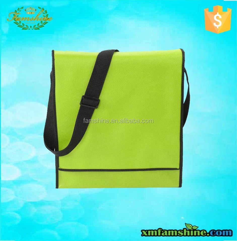 promotional pp nonwoven shoulder bag