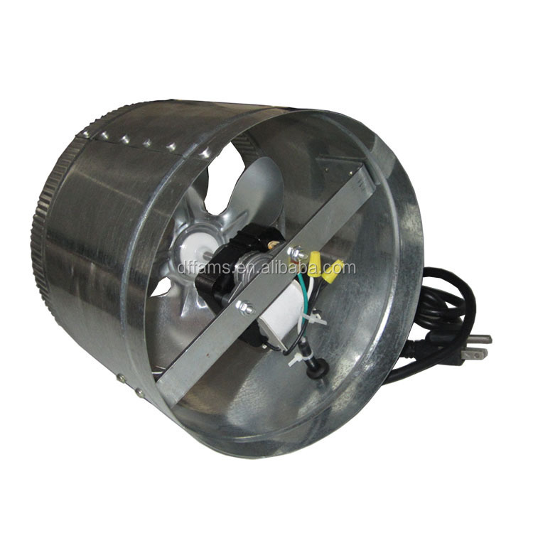 Tube Axial Fans : Round long tube axial fan hot air exhaust buy