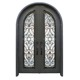 Luxury house front entry door designs exterior metal steel door for sale