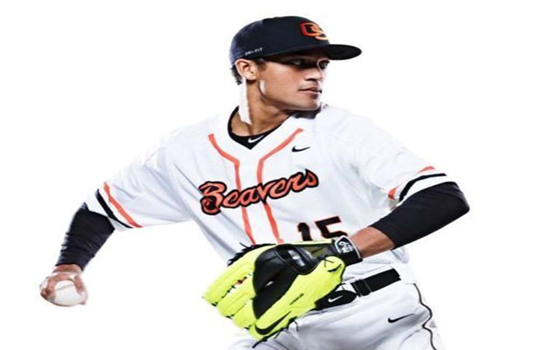 Mens Nike Oregon State Beavers Baseball Jersey White Vapor Pro Size Large 34e632746