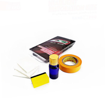 Sikeo Headlight Restoration Kit are like what you see on TV Auto headlight repair kit