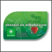 Manufacturer in Guangzhou PVC plastic kidney physical cards/ Nano card