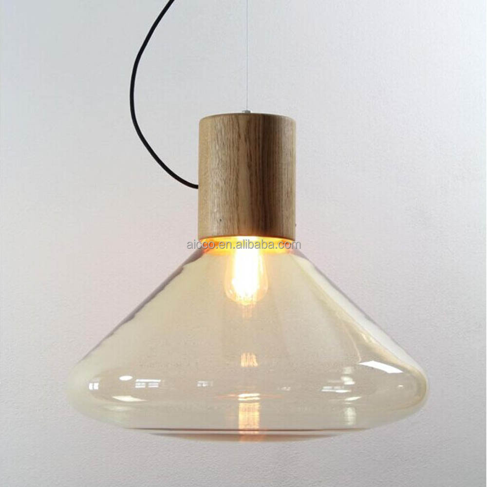 decorative modern wooden lighting muffins pendant light