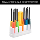 SHICHI Advanced 9-In-1 Screwdriver Household hand Mixed Screwdriver Tool Set Kit