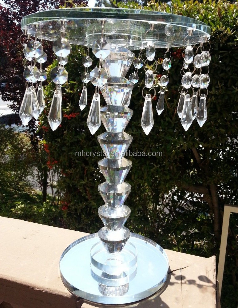 Crystal Chandelier Wedding Centerpieces Stand Mh 1731 Buy Tall