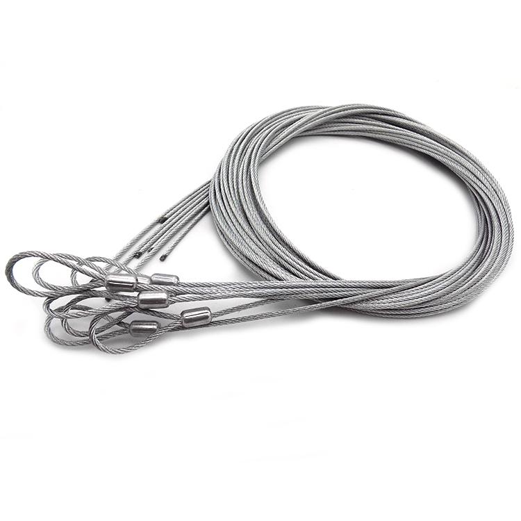 Niedrigeren preis 7x7 feuerverzinkt geschweißte kabel stahl ...