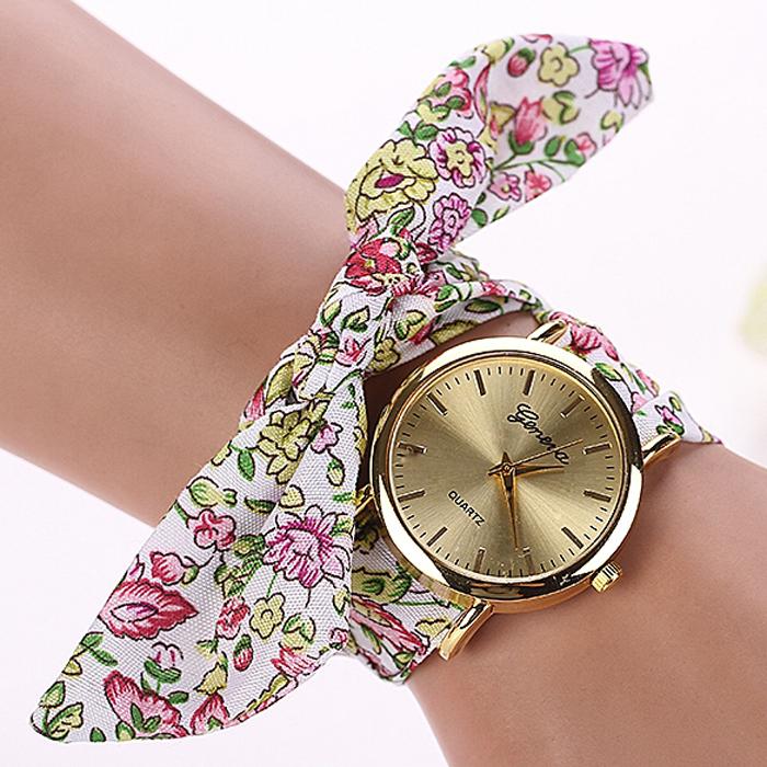 77 мода горячая распродажа мода свободного покроя ткани браслет часы наручные часы женщины платье часы Reloj Mujer Marcas Famosas часы xr871