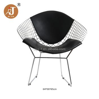 Esszimmer modernes design  Modernes Design Diamant Sessel Metall Esszimmer Stuhl Draht ...