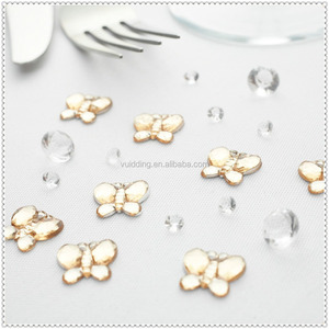 Cute Butterfly Shaped Acrylic Beads Wedding Table Scatter