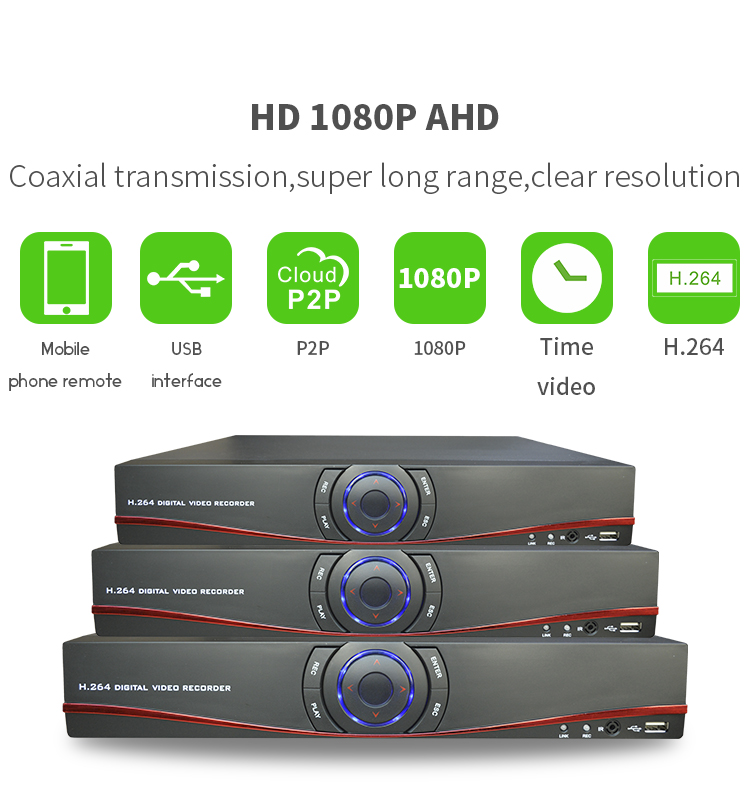 Vitevision 1080p AHD <strong>DVR</strong> 16 Channel H.264 for CCTV camera system standalone <strong>DVR</strong>
