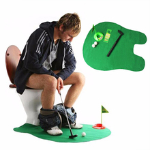 UCHOME Toilet Gioco <span class=keywords><strong>di</strong></span> <span class=keywords><strong>Golf</strong></span>-Potty Putter-Divertente Mens <span class=keywords><strong>Regalo</strong></span>