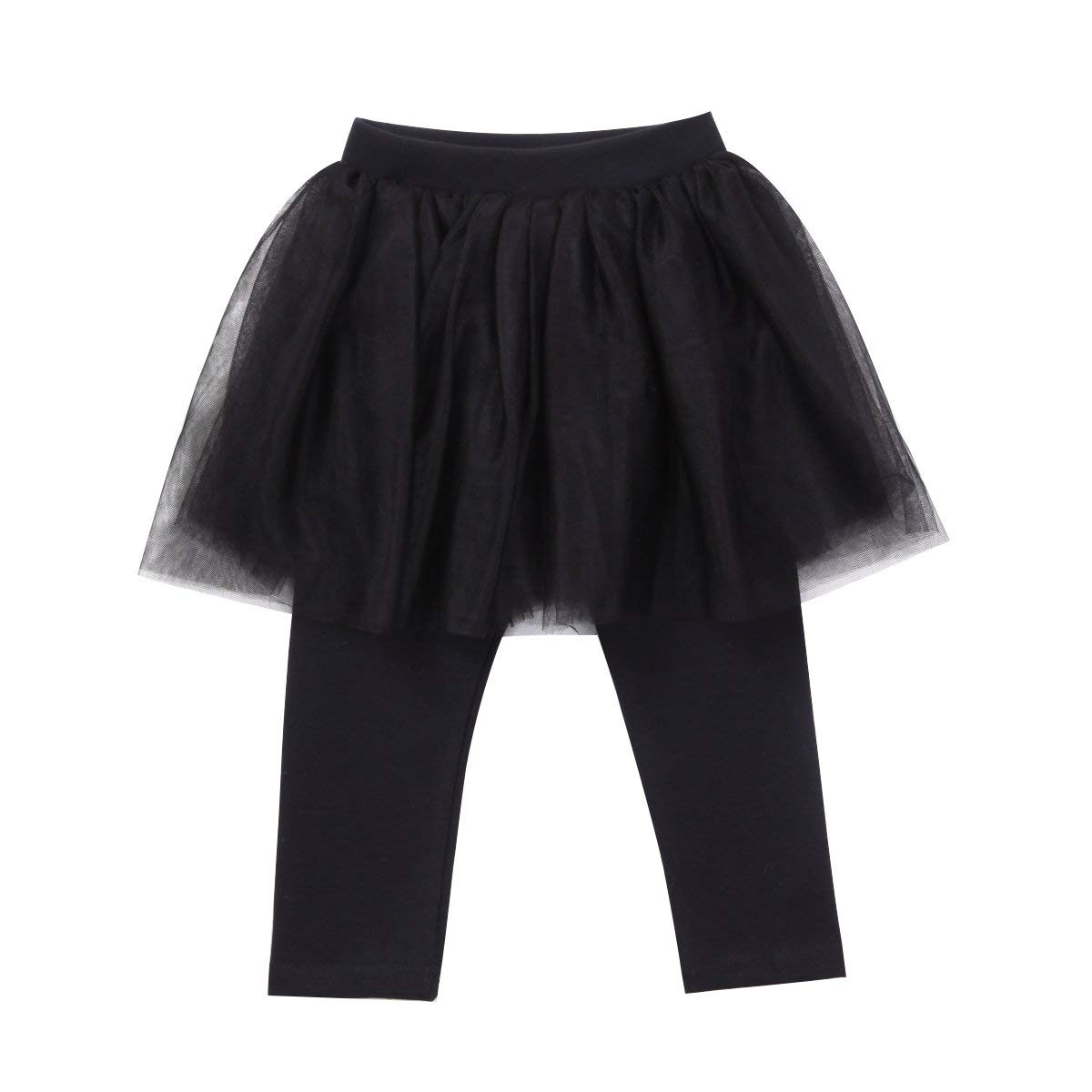 15c1796a0f5fd Get Quotations · Imcute Kids Baby Girls Outfit Cotton Stretch Tutu Skirt Leggings  Tights Pants One Piece