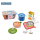 Educational toy preschool pretend cooking game playset kitchen set for kids