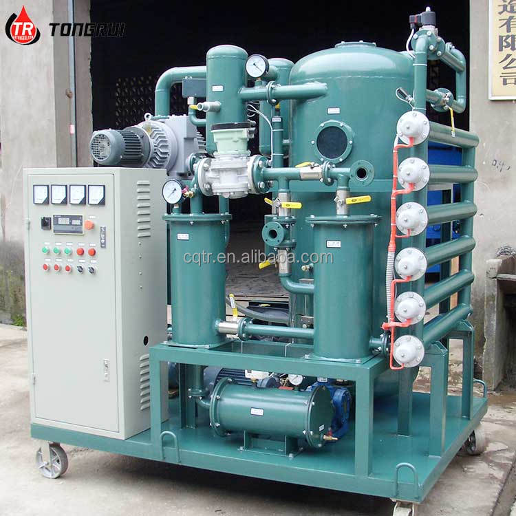 ZJA No Chemical Use Transformer Oil Purification Machine in China