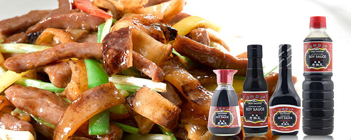 Naturally Brewed MSG Free Healthy Recipe Dark Soy Sauce