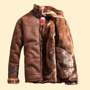 Inquiries For Free Samples Custom High Quality Latest Design Mens Winter Leather Jacket