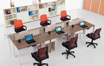 Piccolo Ufficio Moderno : Tavolo ufficio moderno design foto 6 persone piccolo pannello