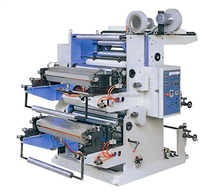High speed two color Shopping Carry Bag Printing Machine/Plastic T shirt Bag Flexo Printer Machine Manufacturers