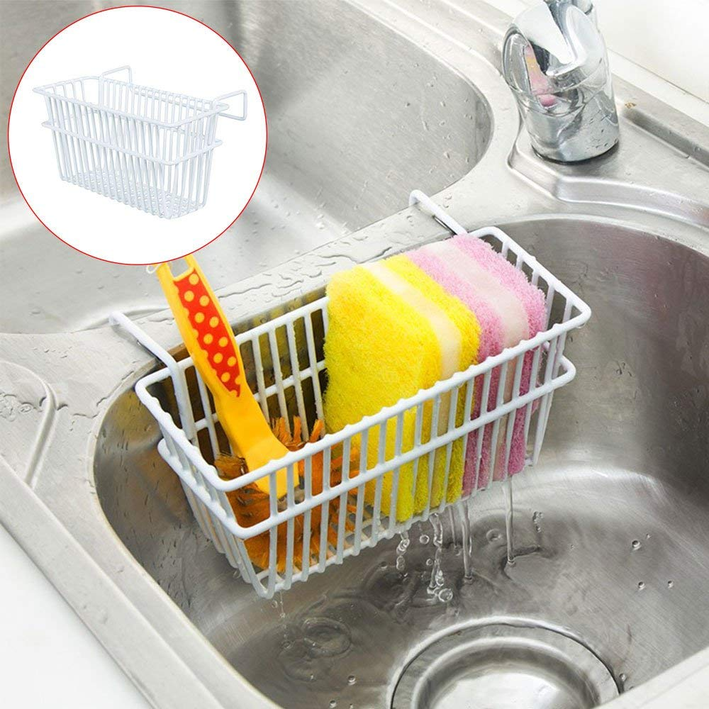 Get Quotations Kitchen Sponge Holder Leegoal Brush Sink Stainless Steel Caddy Dishwashing Liquid