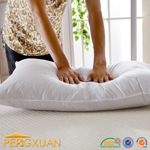 white cleaning cotton pillow for bed from Hilton hotel supplier Pengxuan