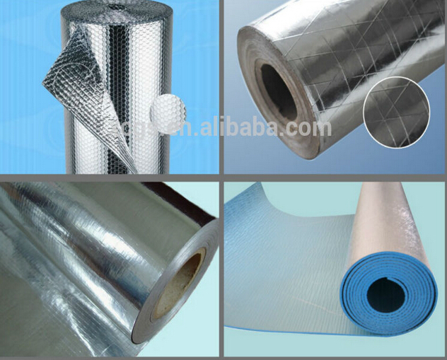 Aluminum foil woven fabric cloth insulating reflective