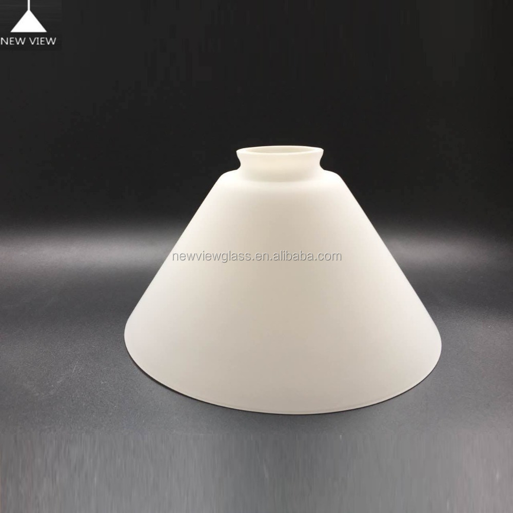 Banker Lamps Is Available,Cone Shade White Color Antique Opal ...