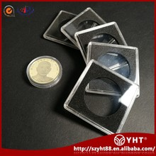 Wholesale popular customized Acrylic presentation single military challenge coin display case