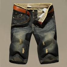 Kvalitné pánske džínové kraťasy z Aliexpress