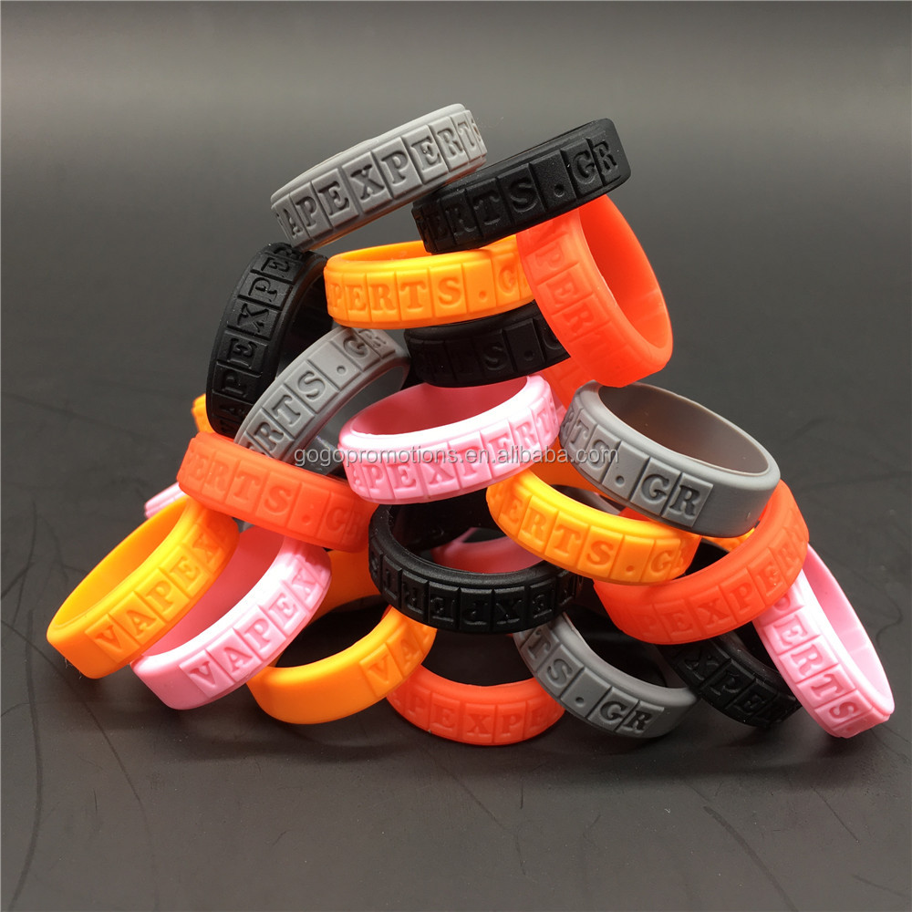 Hot Sale promotion item Cheap price custom Professional oem customize made Silicone vapor bands rubber vape rings Manufacturer