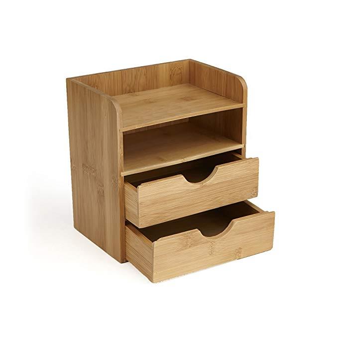 High Quality bamboo desk organizer 3