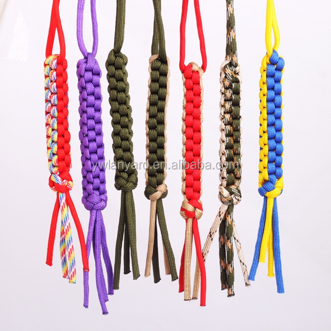 Cheap Customized Survival usb Keychain Wholesale Paracord Lanyard