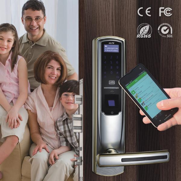 Venta al por mayor cerraduras electr nicas en las puertas de casa compre online los mejores - Cerraduras electronicas para casa ...