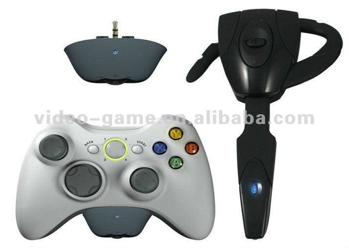 Multi Format Wireless Scorpion Bluetooth Headset for PS3/Xbox 360 console