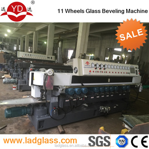 11 wheels glass beveling machine price / grinding mirror and glass machine/Glass Processing Machinery