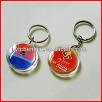 Transparent Custom Clear Acrylic Keychain Wholesale/Blank Acrylic Keychain