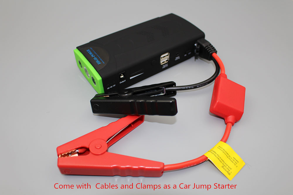 Best quality emergency car jump starter, 12000mah power bank