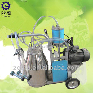 vacuum pump for goat milking system /used goat milking machine